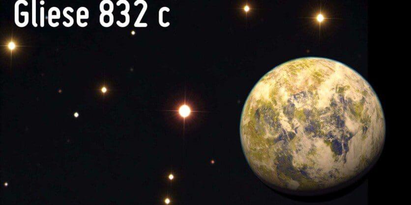 Gliese832c with star - ModartPC
