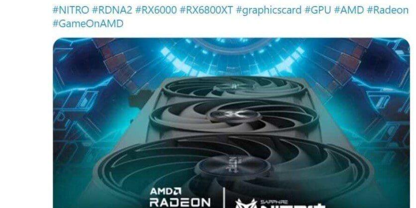 sapphire radeon rx 6800 xt nitro - ModartPC