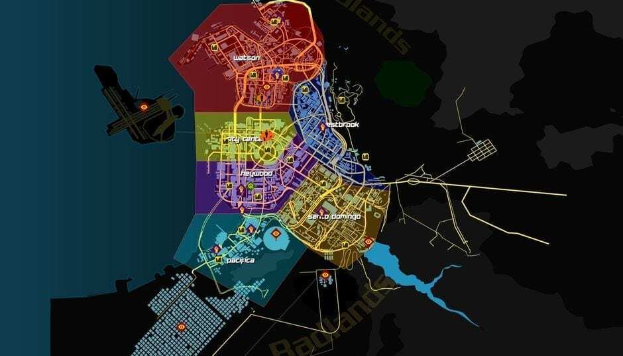 cyberpunk 2077 haritasi modartpc - ModartPC